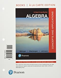 Intermediate Algebra, Books a la Carte Edition with Integrated Review and Worksheets Plus Mylab Math with Pearson E-Text -...
