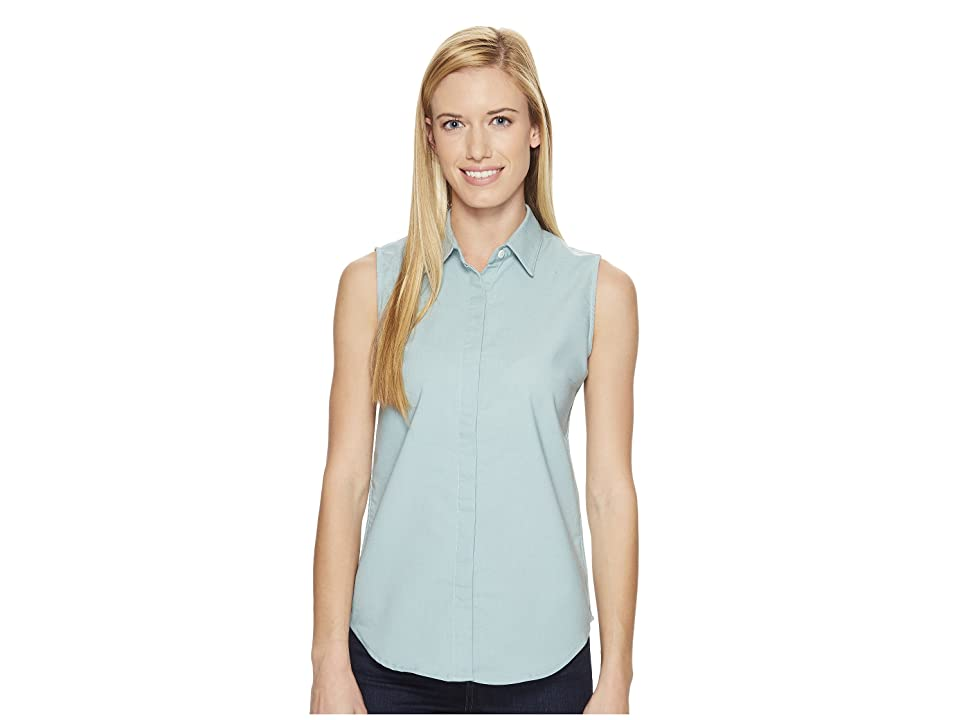 United By Blue Sleeveless Sierra Shirt (Teal) Women