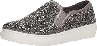 Women's Goldie-Diamond Dreams. Tonal Scattered Rhinestone Slip on Sneaker
