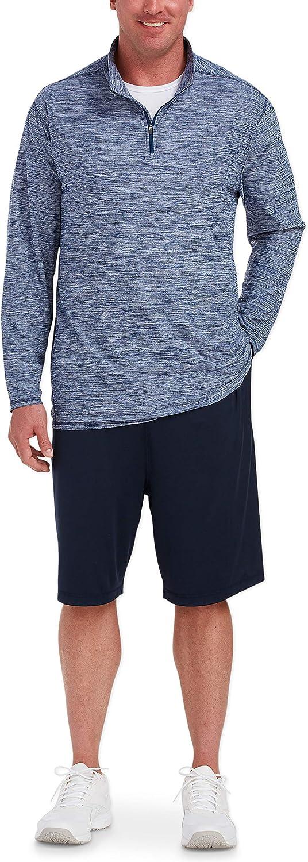 Amazon Essentials Men's Tech Stretch Quarter-Zip fit by DXL