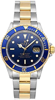 Submariner Mechanical (Automatic) Blue Dial Mens Watch 16613 (Certified Pre-Owned)