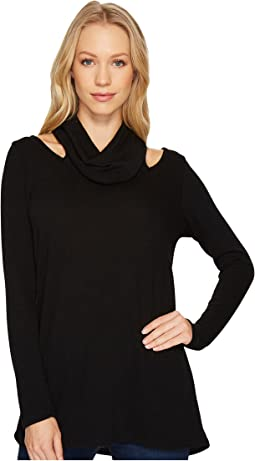 Karen Kane - Cut Out Cowl Neck Sweater