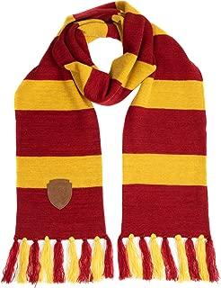 Gryffindor Premium Knit Scarf with Patch Emblem