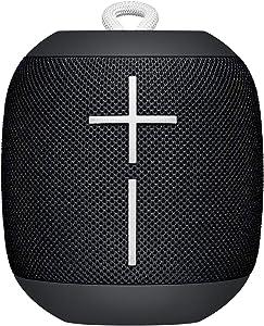 Ultimate EarsUltimate Ears Wonderboom Altavoz Portátil Inalámbrico Bluetooth, Sonido Envolvente de 360°, Impermeable, Conexión de 2 Altavoces para Sonido Potente, Batería de 10 h, color Negro