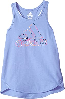 adidas Kids Focus Tank Top (Toddler/Little Kids)