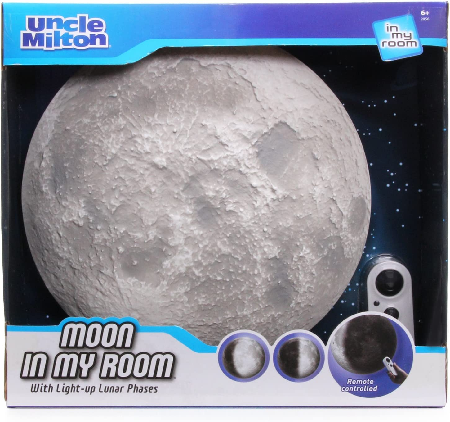 Moon Attention brand In My overseas Room Remote Control Décor Night Light - Wall Uncle
