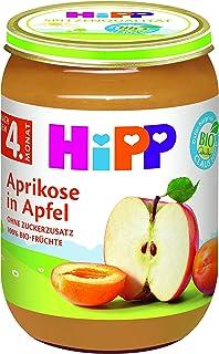 HiPP 喜宝 水果 杏子苹果果泥,6件装(6 x 190克)