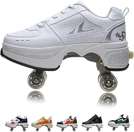 stock photo of the wheeled sneakers