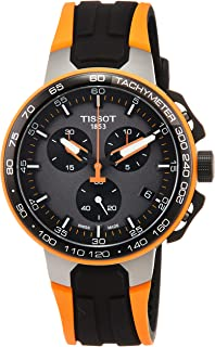 Tissot Men's T-Race Cycling - T1114173744104 Black/Orange One Size