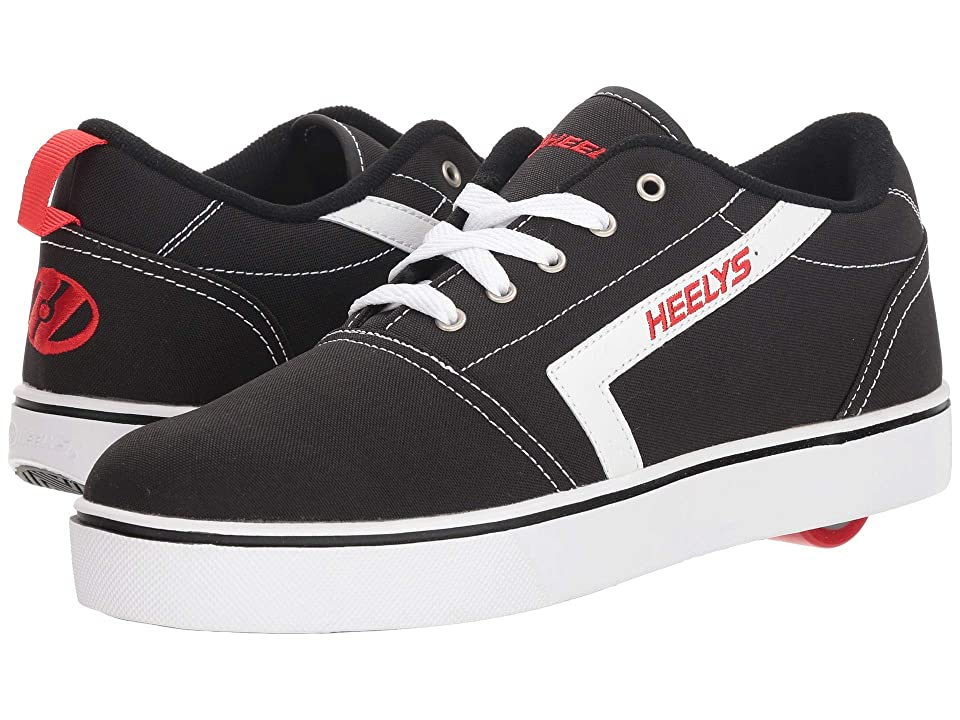 Heelys GR8 Pro (Black/White/Red) Boys Shoes
