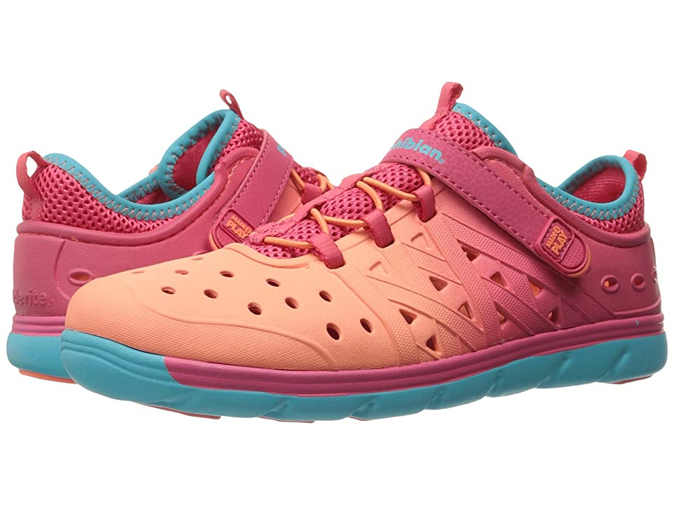 Stride Rite Made 2 Play Phibian (Toddler/Little Kid/Big Kid) (Coral/Turquoise) Girls Shoes