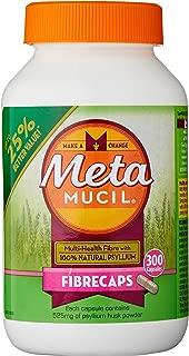 Metamucil Daily Fibre Supplement Fibre Caps 300 Capsules