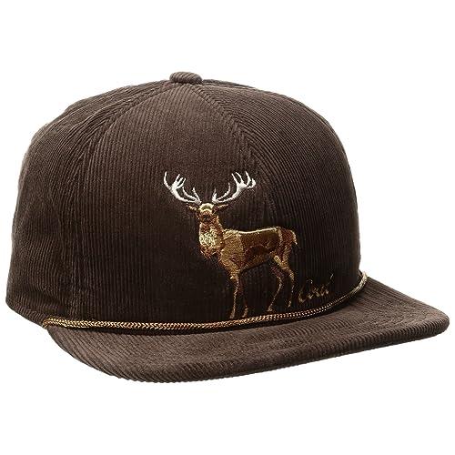 47b19840997 Coal Men s The Wilderness Hat Adjustable Corduroy Snapback Cap