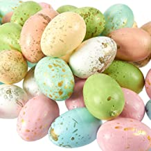 Juvale Foam Easter Eggs for Crafts and Easter Party Decorations, Pastel (50-Pack)