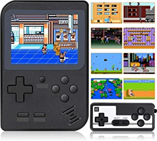 Mademax Handheld Game Console, Retro Mini Game Player with 520 Classical FC Games 3 Inch Color Screen Support for Connecti...