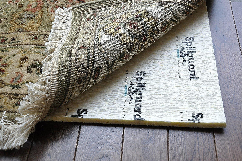 Carpenter, 5'x8', 3 8  Visco- Elastic Memory Foam, Spillguard DuPont Barrier Rug Pad