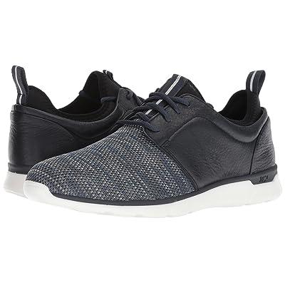 Johnston & Murphy Waterproof Prentiss XC4(R) Casual Dress Plain Toe Sneaker (Navy Waterproof Full Grain/Knit) Men