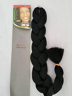 X-pression Premium Original Ultra Braid. Colour 1B [Misc.]