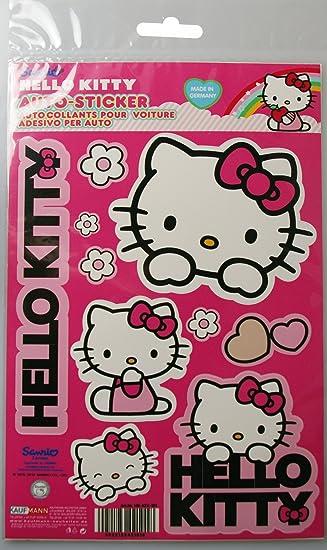 Hello Kitty Kaufmann Neuheiten Hkkfz101 Aufkleber Set Auto