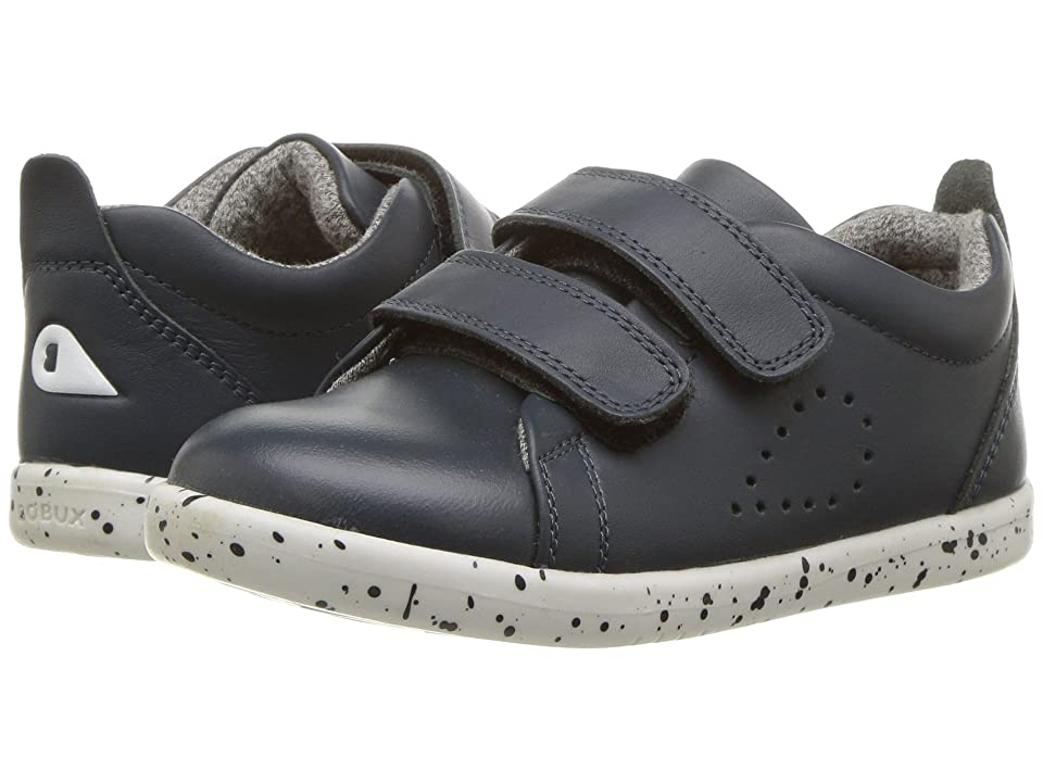Bobux Kids I-Walk Grass Court Trainer (Toddler) (Navy) Kid