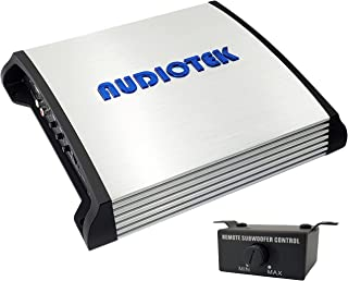 $84 » Audiotek AT2400S 2 Channel Stereo Car Amplifier - 2400 Watts, 2 Ohm Stable, LED Indicator, Full Range, Bass Knob Included,...