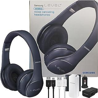 """Samsung Nivel universal sobre """"cancelación de ruido inalámbrica NFC y micrófono–Auriculares w/2100battery Pack Wall & C..."""