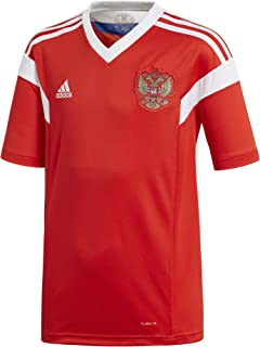 adidas Youth Men's Soccer Russia Home Jersey (Youth Small)