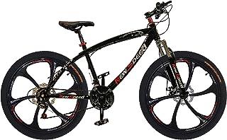 New Speed 26 Inches Road Bike, Freeride Bike,Saiguan shifter,21 Speeds Gears Bike, Adjustable Seat with Dual Disc Brakes, ...