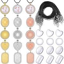 3 Pcs Shell Rhinestone Charms Pendants Charms Bulk for DIY Jewelry Making