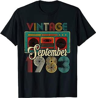 september 1983 t shirt