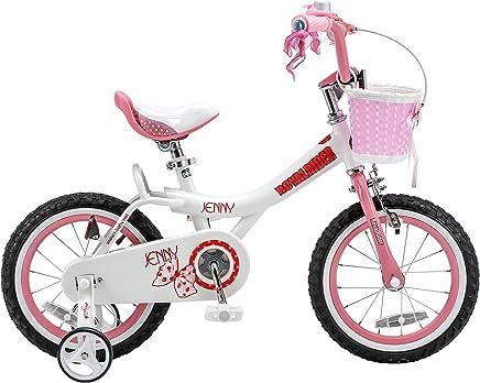Bike RoyalBaby Jenny princesa Pink Girl de con ruedas de entrenamiento y cesta, regalo perfecto para los nios. 12 pulgadas, 14 pulgadas, 16 pulgadas Avaliable