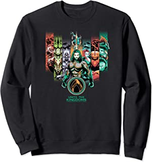 DC Comics Aquaman Unite The Kingdoms Sweatshirt
