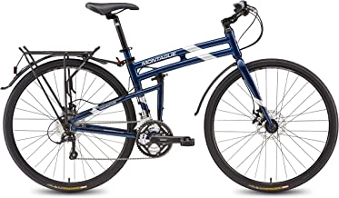 Montague Bikes Folding Bikes700c Pavement Hybrid Bike 30-Speed Road Bike with disc Brakes and a Carbon Fork Folding Mountain Bikes for Adults, Lightweight Folding Bike, Folding Bike-New Model