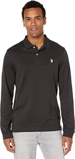 Mens Spece Dye Crew Neck Thermal Shirt Polo Assn U.S