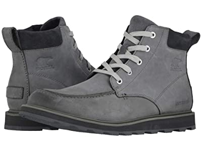 SOREL Madson Moc Toe Waterproof (Quarry) Men