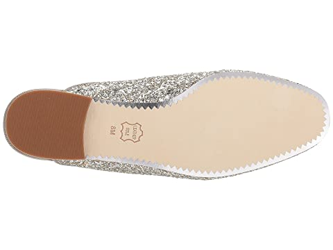 Cheap Sale Recommend Tory Burch Amelia Backless Loafer Silver/Silver Best Seller Cheap Prices Authentic Official Site Online ebwbxTsG