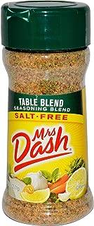 Mrs. Dash Seasoning Blend, Table Blend, Salt Free, 2.5 Ounce