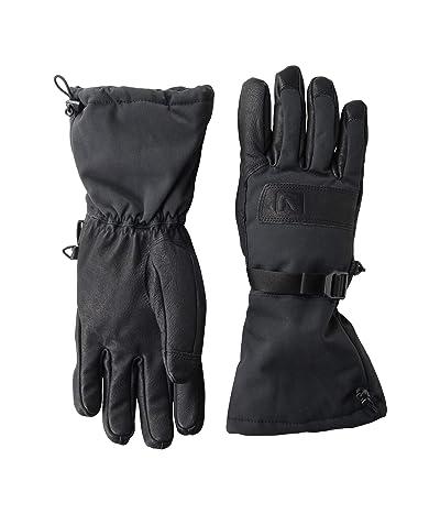 Flylow Super Gloves (Black/Black) Ski Gloves