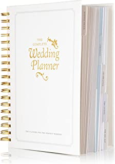 The Complete Wedding Planner Book and Organizer by DayWorks: Gold Undated Hard Cover Bridal Planning Diary. The Perfect en... photo