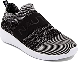 Nautica Women Fashion Slip-On Sneaker Jogger Comfort Running Shoes