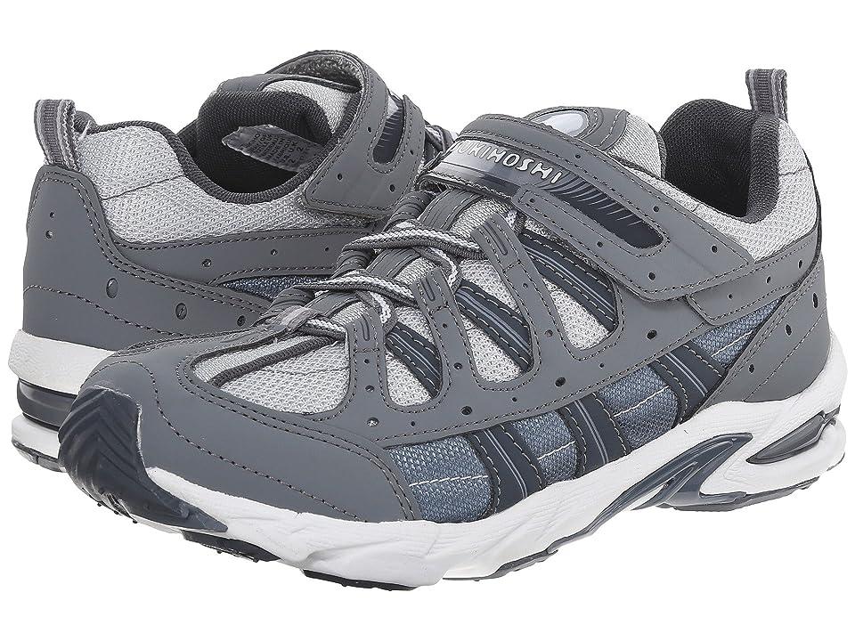 Tsukihoshi Kids Speed (Little Kid/Big Kid) (Gray/Gray) Boys Shoes