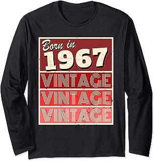 in 1967 Birthday Gift Long Sleeve T-Shirt