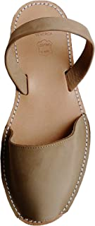 Menorca Menorquin Avarcas Menorquinas Menorcan Sandals with Wedge/Platform of 4.8 cm, Avarcas Menorquinas, Leather, Abarcas