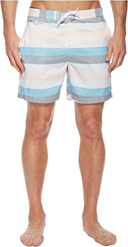 Original Penguin - Stripe Swim Trunk
