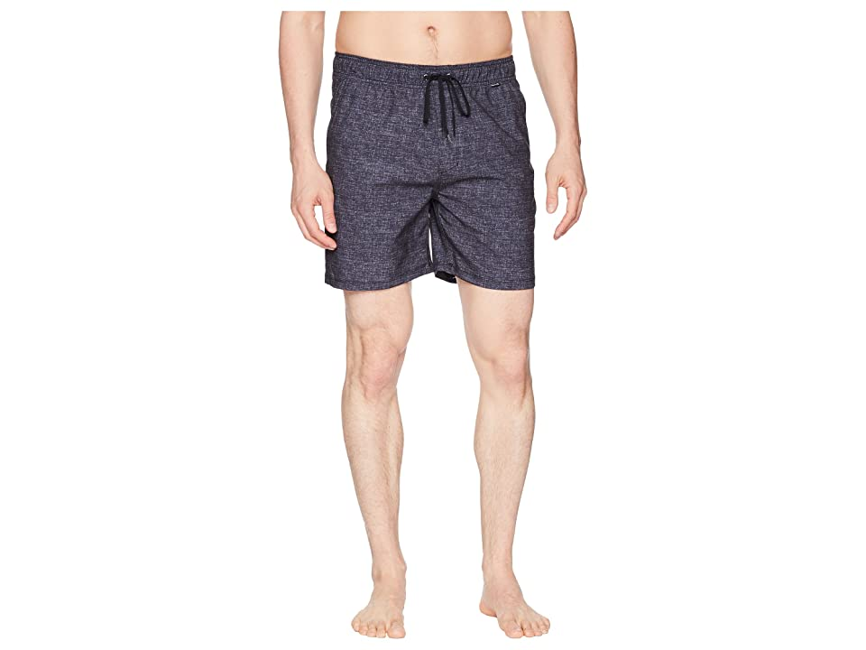 Hurley Heather Volley Shorts 17 (Black) Men