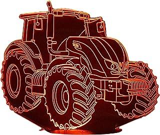 VALTRA trattore, Lampada illusione 3D con LED - 7 colori.