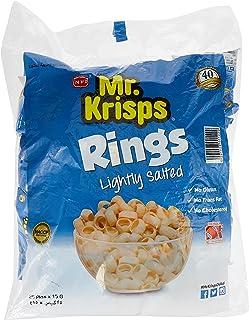 Mr. Krisps Potato Rings Lightly Salted Flavor, 25 x 15 g