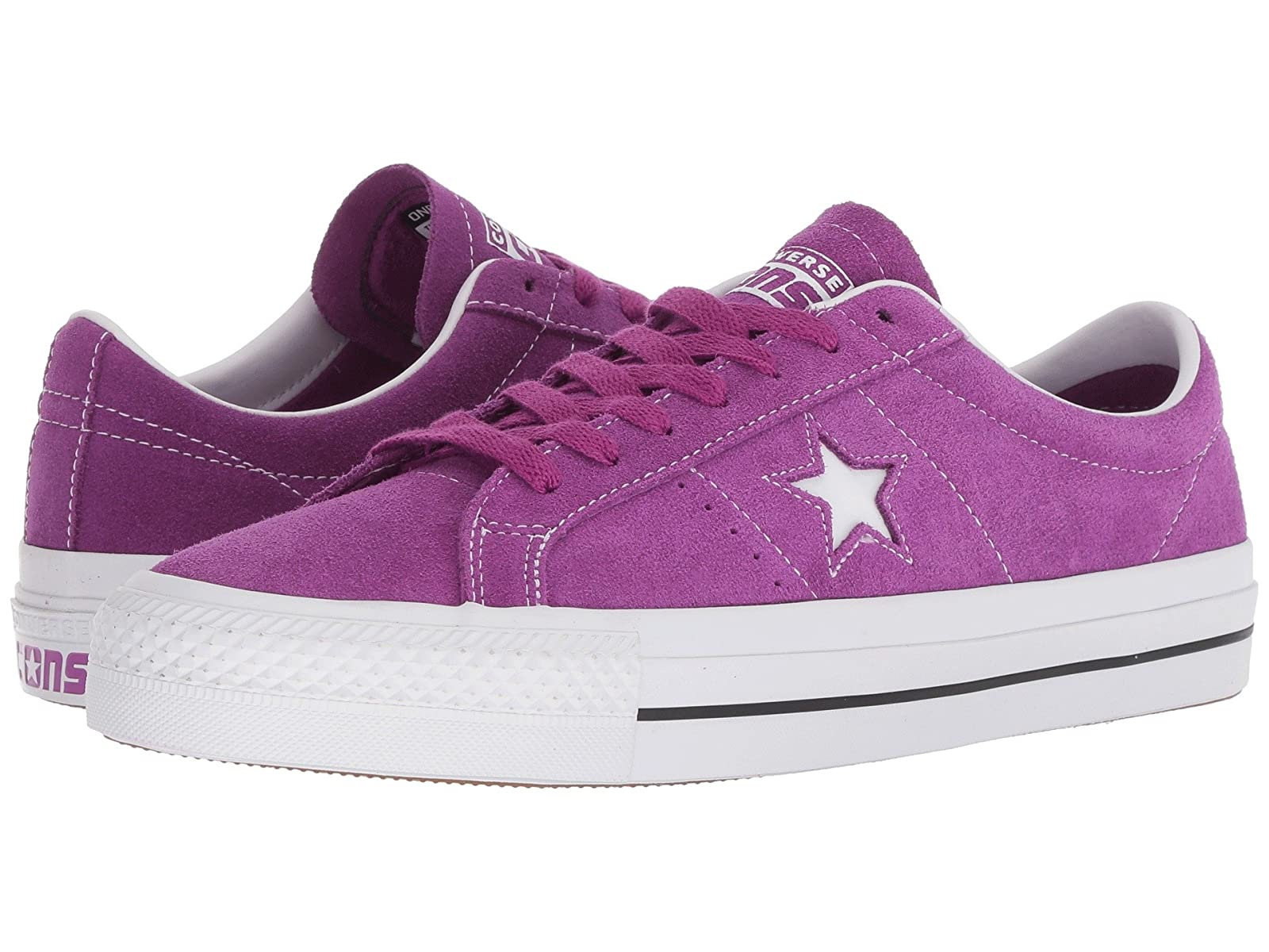 Converse Skate One Star® Pro Suede OxAtmospheric grades have affordable shoes