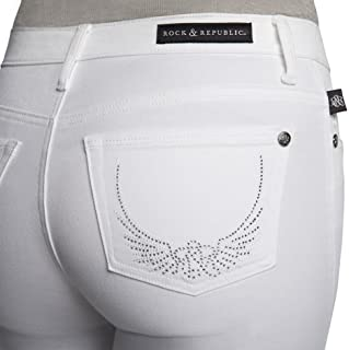 372d9db79ee16 Women s Rock   Republic Kasandra Embellished Bootcut Jeans - Plus Sizes -  White