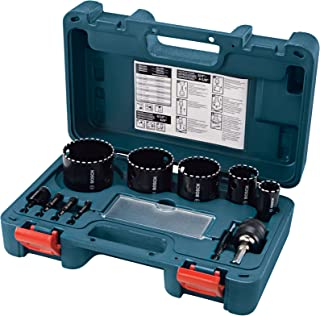 Bosch博世 HDG11 连齿打孔钻刀头 11 件套
